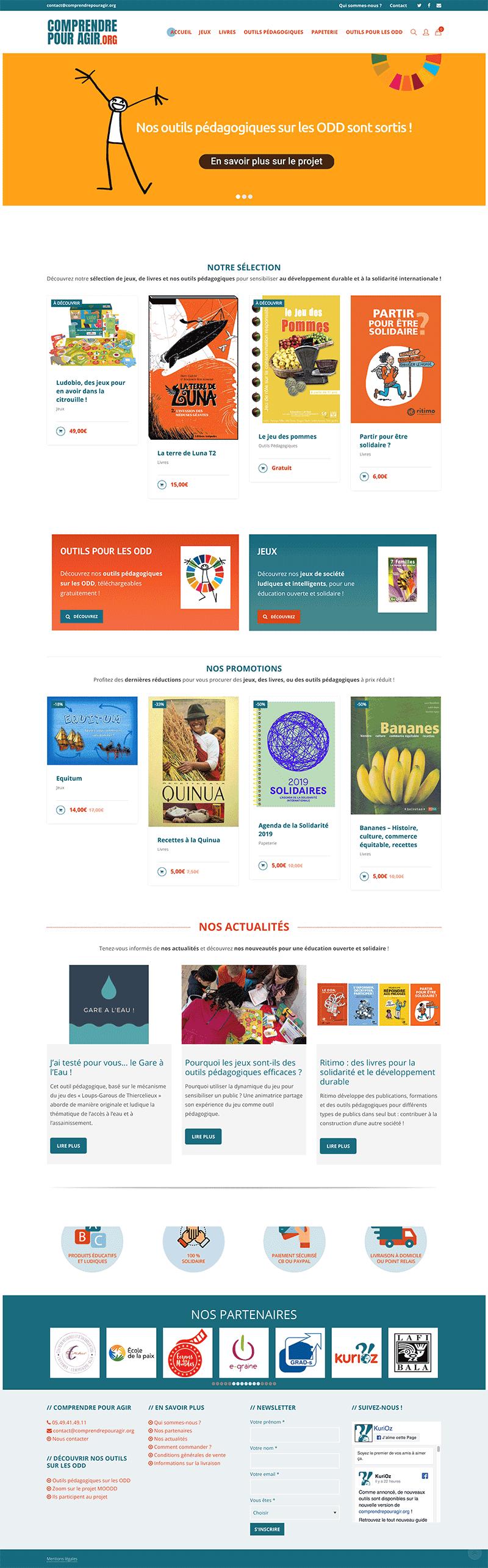 Site internet Woocommerce Comprendre pour Agir