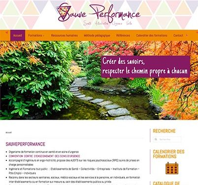 Site internet Sauveperformance