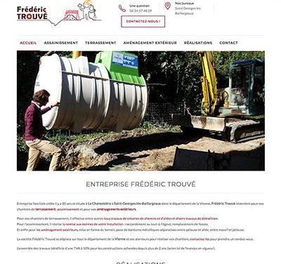 Création du site internet WordPress d'une entreprise d'assainissement à Poitiers