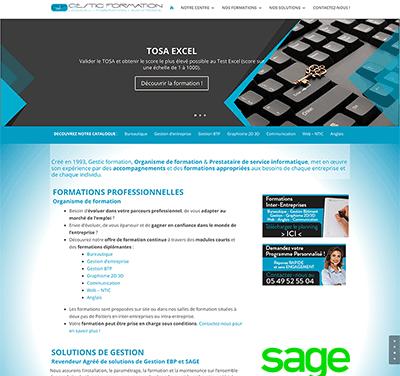 Mises à jour du site internet Gestic Formation