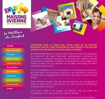 Site WordPress Maisons de Vienne