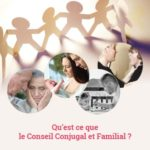 Site internet et flyer : conseil conjugal et familial