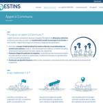 LabCom Destins : un site internet WordPress pour ce labo de recherche basé à Poitiers