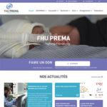 Charte graphique du site internet du FHU Prema